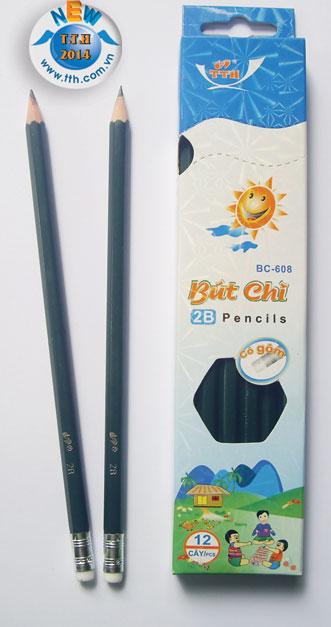 Bút chì có tẩy 608