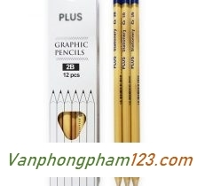 Bút chì Plus (hộp 12 cái)