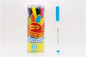 Bút lông màu Thiên Long SWM-C04 12 màu dễ rửa sạch