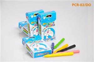 Bút nhựa màu Thiên Long PCR-02/DO 12 màu