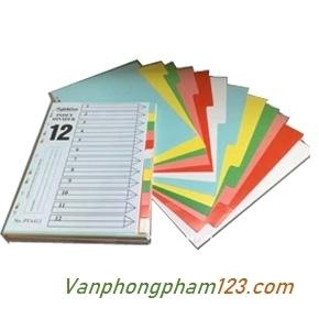 Chia file giấy 12