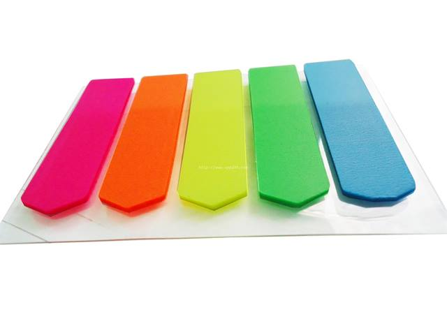 Phân trang nhựa 5 màu mũi tên