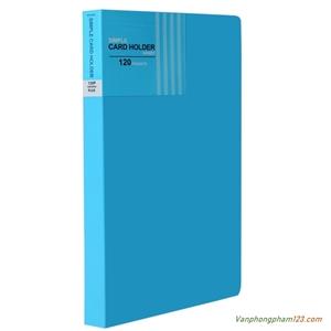 Sổ lưu danh thiếp Plus A5-120 thiếp