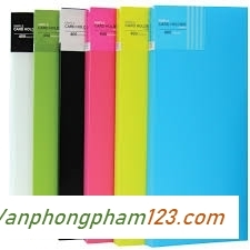 Sổ lưu danh thiếp Plus A4 - 200 thiếp