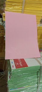 Bìa màu A4 T&T hồng