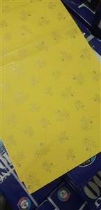Bìa thơm A4 màu vàng