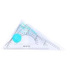 Bộ thước EKE 25cm Deli 6425