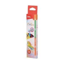Bút chì 2 đầu 12 màu Deli EC00500