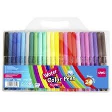 Bút dạ nước 24 màu Deli 37171