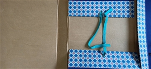 Cặp hộp gáy vải A3 5cm