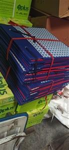 Cặp hộp vuông gáy vải A3 8cm
