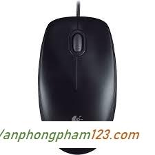 Chuột máy tính có dây Logitech B100