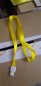 Dây đeo thẻ màu vàng 1.2cm