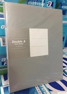 File 40 lá Double A cao cấp màu ghi