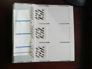 File nan 3 ngăn màu ghi Kendy