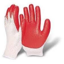 Găng tay có tráng cao su