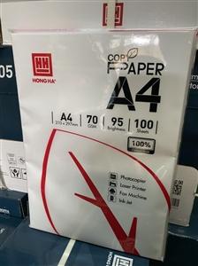 Giấy A4 70gsm Delus Hồng Hà túi 100 tờ