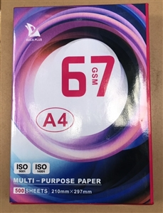 Giấy photocopy EUCA A4 67gsm