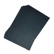 Giấy bìa màu đen A4