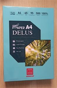 Giấy Copypaper A4 Delus 65gsm Hồng Hà