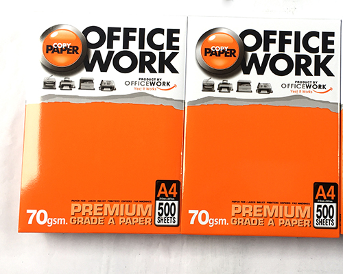 Giấy office work A4 70
