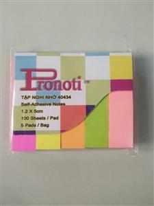 Giấy nhắn 5 màu Pronoti 40434