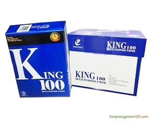 Giấy photocopy A4 King 100