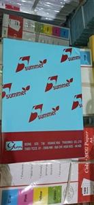Giấy photo màu xanh dương Summer