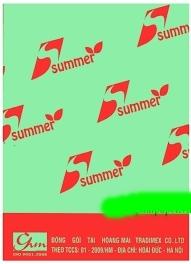Giấy photo màu cốm Summer A4 80gsm