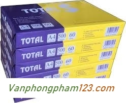 Giấy Total A4 60gsm