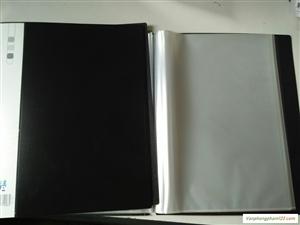 Hồ sơ 20 lá Double màu đen