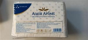 Khăn giấy mịn vuông Acacia Airline