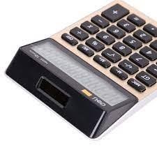 Máy tính dùng pin loại 12 số Deli EM00720