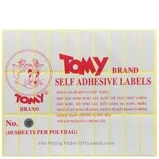 Nhãn dán Tomy 107