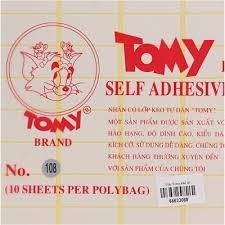 Nhãn dán Tomy 108