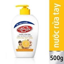 Nước rửa tay Lifebouy 500g vàng