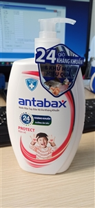 Nước rửa tay bảo vệ da Antabax 500ml