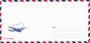 Phong bì thư (phong bì máy bay)