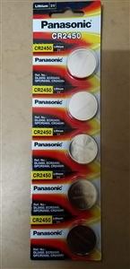 Pin khuy Panasonic CR2450