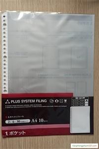 Sơ mi lỗ Plus dày (Refill Clear File)