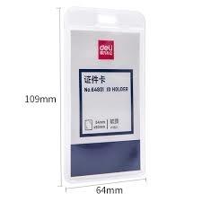 Thẻ đeo Deli 64801