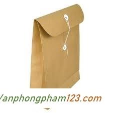Túi hồ sơ vàng A4 có đáy