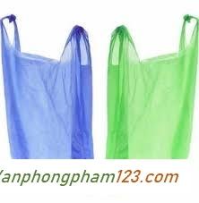 Túi nilon 5kg xanh