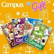Vở Campus Gift 120tr
