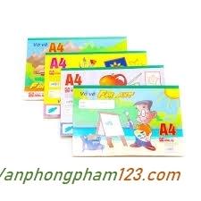 Vở vẽ A4 Hồng Hà 4941