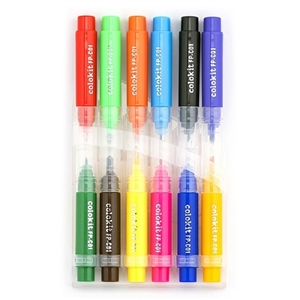 Bút lông màu Thiên Long FP-C01 12 màu