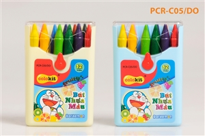 Bút nhựa màu Thiên Long PCR-C05/DO hộp 12