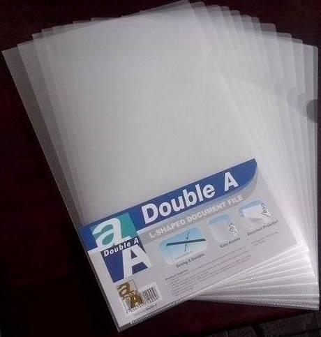 File lá (file góc, file 2 cạnh) Double A