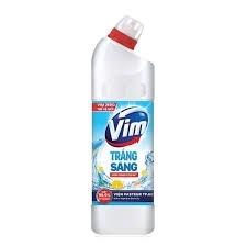 Gel tẩy bồn cầu và nhà tắm Vim trắng sả chanh