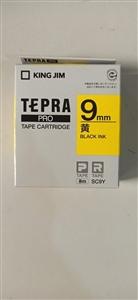 Băng mực Tepra 9mm vàng Kingjim